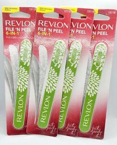 4lot Revlon File 'N Peel 6-In-1 Nail File