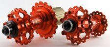 Circus Monkey HDW2 Disc Hub F 32 R 32 H 6Pawls MTB CNC 6Bolt F&R set Orange