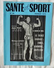 Santé et sport n°96 - Bodybuilding - Musculation - Photo ARAX 1973