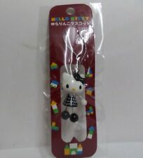 Hello Kitty Dangling Hand & Leg Cell Phone Charm Strap Black Dress