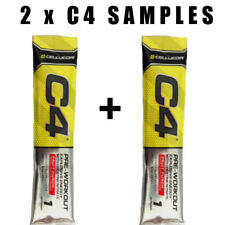 C4 Pre-workout samples 2 packets