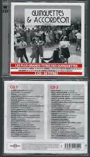 GUINGUETTES ET ACCORDEON : Horner,Azzola,Verchuren (2 CD) 50 Titres 2010 NEUF