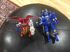 Pair Of Bandai Mighty Morphin' Power Rangers Action Figures 2001 2003 See Pics