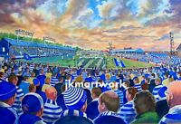 Cappielow Stadium Fine Art A4 Print - Greenock Morton Football Club
