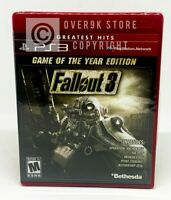 Fallout 3 - Game of the Year Edition - PS3 - Brand New | Factory Sealed