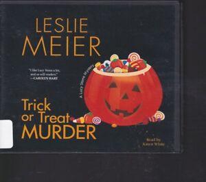 TRICK OR TREAT MURDER by LESLIE MEIER ~ UNABRIDGED CD AUDIOBOOK