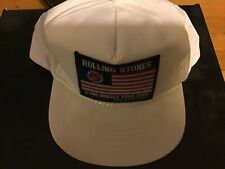 The Rolling Stones Steel Wheel Tour 1989 Hat