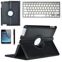 Clavier Bluetooth + étui rotatif en cuir PU Stylet tactile pour iPad pro