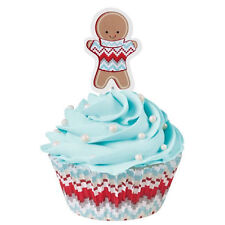 Gingerbread with Sweater Cupcake Combo Pack from Wilton 2607 - NEW