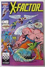X-Factor #7 (Aug 1986, Marvel) (C4821) 1st Appearance of Skids Sally Blevins