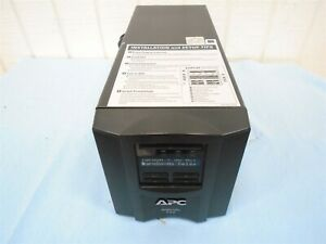 APC Smart-UPS SMT750 Battery BackUp Surge Protector 6 Protected Outlets