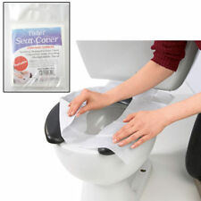 10 Disposable Toilet Seat Covers Paper Travel Biodegradable Disposable Sanitary