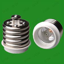 1x E40 40mm Goliath Tornillo a Edison E27 es sostenedor de la lámpara Reductor Adaptador Convertidor