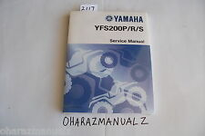 YAMAHA YFS200P/R/S Service Manual  *SEALED*