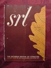 Saturday Review October 16 1943 JOHN MASON BROWN CARL CARMER