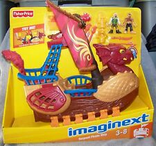 IMAGINEXT DRAGON WORLD 2010 SERPENT PIRATE SHIP SET WITH DVD