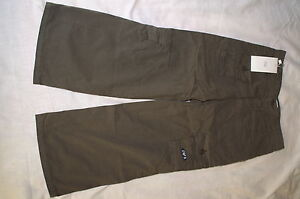ARMANI JUNIOR NEW ARMY CARGO PANTS TROUSER OLIVE GREEN SIZE 7 8 9 BOYS GIRLS KID