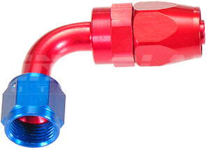 AN-8 90 Degree Hose End Fitting for Braided Hose