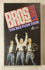 Bros Live: The Big Push Tour VHS 1988 Pop Rock CMV / CBS Music Video