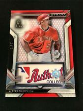 New listing 2016 Topps Strata MLB Certified Logo Patch 1/1  ALBERT PUJOLS *Angels *RM4