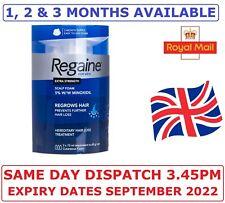 REGAINE FOR MEN 5% MINOXIDIL FOAM EXTRA STREGTH HAIR REGROWTH TREATMENT