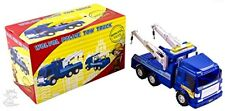 Pull Back Vehicles WolVol Big Heavy Duty Wrecker Tow Truck Police Toy for Kids