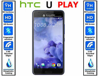 Genuine 100% TEMPERED GLASS HD Screen Protector Cover For HTC U PLAY