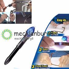 UV Light 5 Second Fix Repair Tool Glue Refill Liquid Plastic Welding Super Power