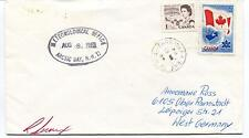 1969 ? Arctic Bay Meteorological Office Frobisher Bay Canada Polar Cover SIGNED