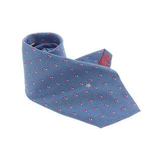 Dior Neck Tie Navy Mens Authentic Used Y6347