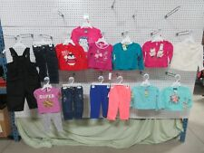 15 Joe Boxer Wonder Kids Girls Toddler 12M Baby Clothing Outfit Tops Bottoms Lot