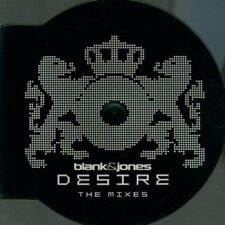 Blank & Jones - Single-CD - Desire-The Mixes (2002, round case) ...