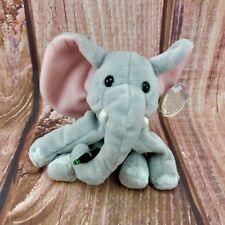 """UFFICIALE COCA COLA COLLEZIONE Beanie Teddy Toy Elefante 1998 NUOVO TAG 8"""" Bottiglia"""