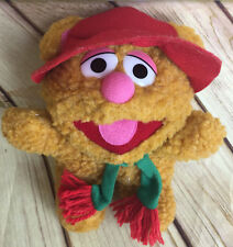 Baby Fozzie Bear 1987 Plush Christmas Muppets