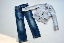 Jeans von Monnalisa,Weste von Diesel gr. 128
