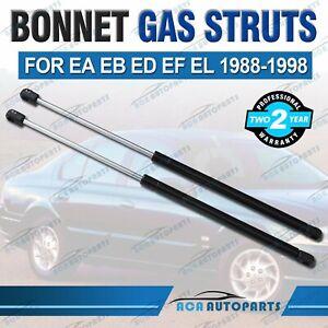 FITS FORD FALCON BONNET GAS STRUTS Suit EA EB ED EF EL 88-98 TOP QUALITY (PAIR)