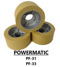 Wheels For 1hp Powermatic Pf 33 Power Feeder Set Of 3