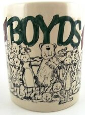 Bearware Pottery Works THE BOYDS COLLECTION 25 Year Celebration Coffee Cup Mug