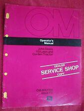 VINTAGE JOHN DEERE 110 LAWN & GARDEN TRACTOR OPERATORS MANUAL OM-M47701/ISSUE F3
