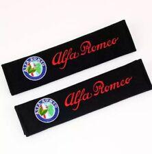 2 Copricinture Personalizzate con Ricami Colorati! ALFA ROMEO GT QUADRIFOGLIO