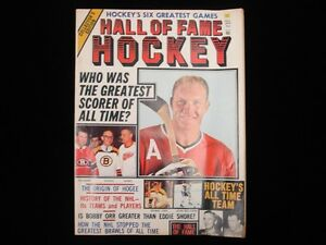 Fall 1973 Hall of Fame Hockey Magazine - Bobby Hull Cover