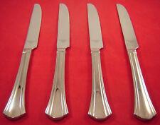 Reed & Barton Covington 4 Stainless 18/10 Sh Dinner Knives New