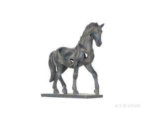 "Rustic Horse Art Figurine Statue 16"" Collectible Sculpture Western Home Decor"
