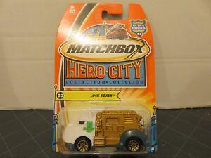 2003 Matchbox Hero City Lock Boxer #23 Die-Cast Metal Car