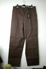 RAF SIMONS Wide Leg Taped Chino Pants Brown 52 New Neu Hose 100% Authentic