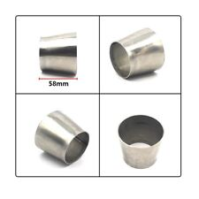 High quality 201 Stainless Weldable Reducer Adapter Pipe 2.5'' 63mm to 3'' 76mm