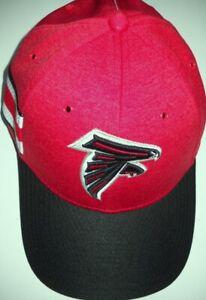 ATLANTA FALCONS ADULT STRETCH-FIT 1-FIT SIDELINE CAP HAT W/ LOGO (MEDIUM-LARGE)