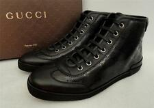 Gucci Black GG High Top Sneakers Shoes Trainers UK5 EU38 Perfect Gift