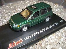LAND ROVER FREELANDER V 6 4-türig VERDE 2003 Schuco 1:64