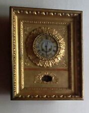 Biedermeier - Rahmenuhr - vergoldet